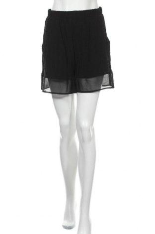Дамски къс панталон Minimum, Размер M, Цвят Черен, Вискоза, Цена 27,00лв.