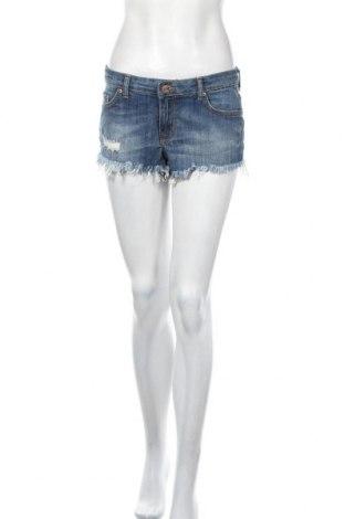 Γυναικείο κοντό παντελόνι Perfect Jeans By Gina Tricot, Μέγεθος S, Χρώμα Μπλέ, 98% βαμβάκι, 2% ελαστάνη, Τιμή 14,29€