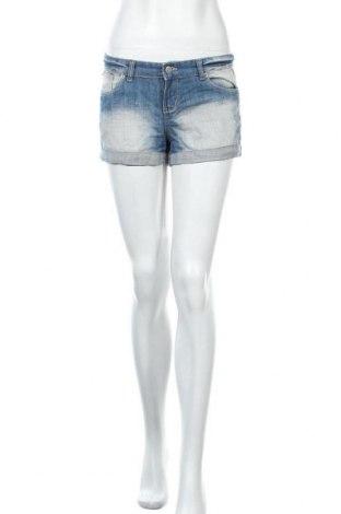 Γυναικείο κοντό παντελόνι Perfect Jeans By Gina Tricot, Μέγεθος S, Χρώμα Μπλέ, 99% βαμβάκι, 1% ελαστάνη, Τιμή 15,59€