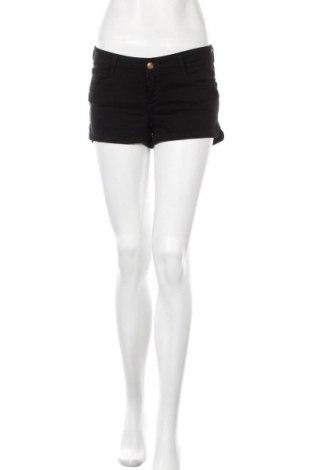 Γυναικείο κοντό παντελόνι Perfect Jeans By Gina Tricot, Μέγεθος S, Χρώμα Μαύρο, 98% βαμβάκι, 2% ελαστάνη, Τιμή 16,89€