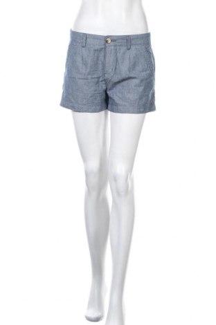 Γυναικείο κοντό παντελόνι Springfield, Μέγεθος S, Χρώμα Μπλέ, Βαμβάκι, Τιμή 11,11€