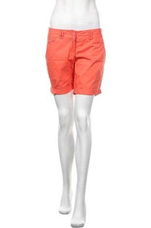 Γυναικείο κοντό παντελόνι Tom Tailor, Μέγεθος M, Χρώμα Πορτοκαλί, Βαμβάκι, Τιμή 12,96€