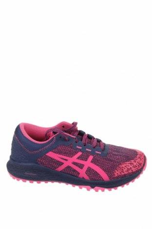 Γυναικεία παπούτσια ASICS, Μέγεθος 37, Χρώμα Βιολετί, Κλωστοϋφαντουργικά προϊόντα, δερματίνη, Τιμή 57,60€