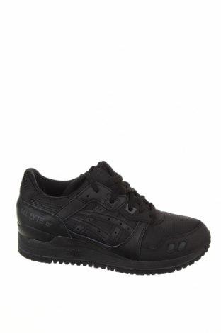 Γυναικεία παπούτσια ASICS, Μέγεθος 36, Χρώμα Μαύρο, Γνήσιο δέρμα, κλωστοϋφαντουργικά προϊόντα, Τιμή 39,34€