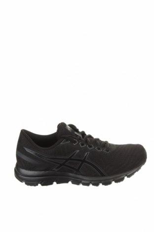 Γυναικεία παπούτσια ASICS, Μέγεθος 37, Χρώμα Μαύρο, Κλωστοϋφαντουργικά προϊόντα, δερματίνη, Τιμή 30,72€
