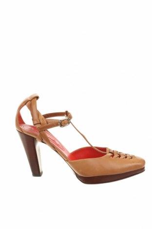 Дамски обувки Celine, Размер 40, Цвят Кафяв, Естествена кожа, Цена 168,54лв.