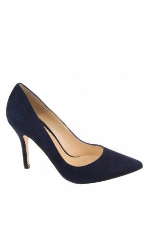 Γυναικεία παπούτσια Elodie, Μέγεθος 38, Χρώμα Μπλέ, Φυσικό σουέτ, Τιμή 37,97€