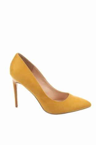 Дамски обувки Even&Odd, Размер 41, Цвят Жълт, Текстил, Цена 43,07лв.