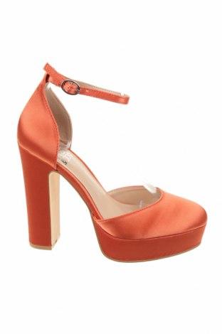 Дамски обувки Even&Odd, Размер 38, Цвят Оранжев, Текстил, Цена 43,07лв.