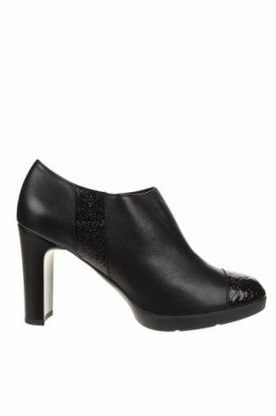 Дамски обувки Geox, Размер 40, Цвят Черен, Естествена кожа, еко кожа, Цена 123,37лв.