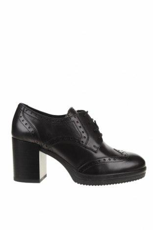 Дамски обувки Geox, Размер 36, Цвят Черен, Естествена кожа, Цена 145,27лв.