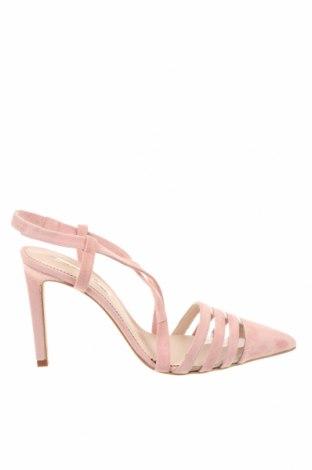Дамски обувки Hannibal Laguna, Размер 41, Цвят Розов, Естествен велур, Цена 34,01лв.