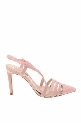 Дамски обувки Hannibal Laguna, Размер 41, Цвят Розов, Естествен велур, Цена 34,02лв.