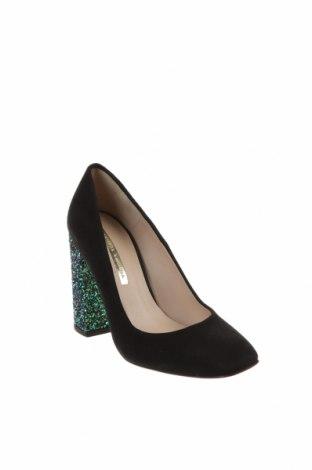 Дамски обувки Hannibal Laguna, Размер 36, Цвят Черен, Естествен велур, Цена 141,75лв.