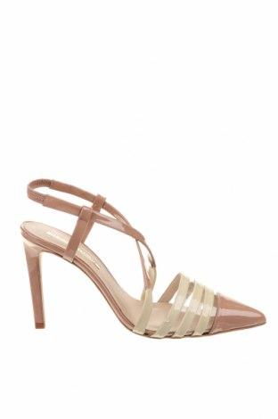 Дамски обувки Hannibal Laguna, Размер 40, Цвят Розов, Естествена кожа, еко кожа, Цена 35,28лв.