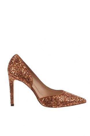 Дамски обувки Hannibal Laguna, Размер 40, Цвят Златист, Текстил, Цена 38,87лв.
