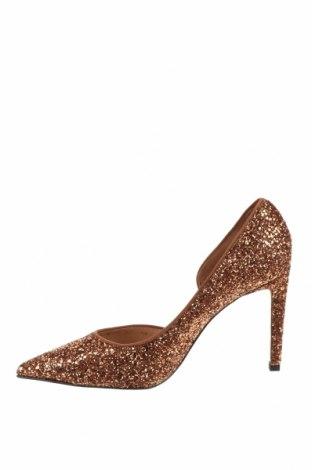 Дамски обувки Hannibal Laguna, Размер 40, Цвят Златист, Текстил, Цена 126,75лв.