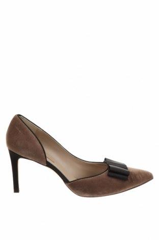 Дамски обувки Hannibal Laguna, Размер 41, Цвят Кафяв, Текстил, Цена 38,87лв.