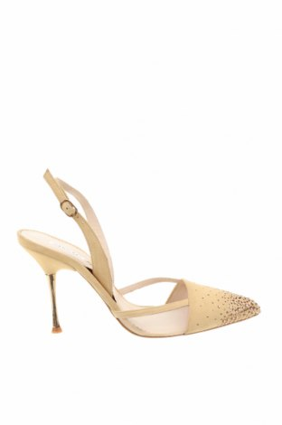 Γυναικεία παπούτσια Hannibal Laguna, Μέγεθος 39, Χρώμα Κίτρινο, Φυσικό σουέτ, Τιμή 20,46€