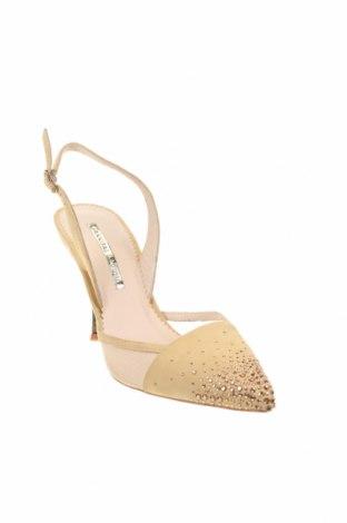 Дамски обувки Hannibal Laguna, Размер 39, Цвят Жълт, Естествен велур, Цена 126,00лв.