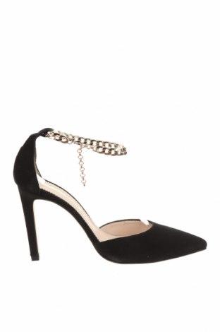 Дамски обувки Hannibal Laguna, Размер 39, Цвят Черен, Естествен велур, Цена 41,17лв.