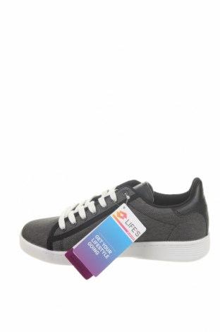 Дамски обувки Lotto, Размер 36, Цвят Сив, Текстил, еко кожа, Цена 81,75лв.