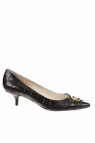Дамски обувки MICHAEL Michael Kors, Размер 39, Цвят Черен, Естествена кожа, Цена 116,96лв.