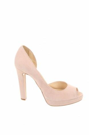 Дамски обувки MPS, Размер 40, Цвят Розов, Естествен велур, Цена 87,00лв.