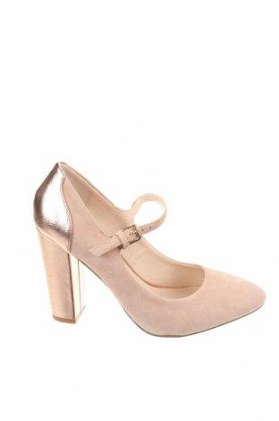 Γυναικεία παπούτσια Mint & Berry, Μέγεθος 36, Χρώμα Ρόζ , Φυσικό σουέτ, δερματίνη, Τιμή 11,65€
