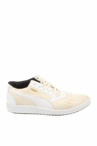 Γυναικεία παπούτσια PUMA, Μέγεθος 38, Χρώμα Εκρού, Κλωστοϋφαντουργικά προϊόντα, δερματίνη, Τιμή 33,02€