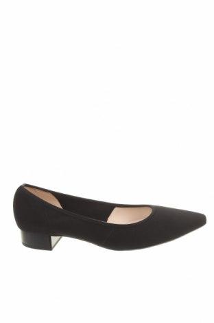 Γυναικεία παπούτσια Peter Kaiser, Μέγεθος 41, Χρώμα Μαύρο, Κλωστοϋφαντουργικά προϊόντα, Τιμή 30,49€