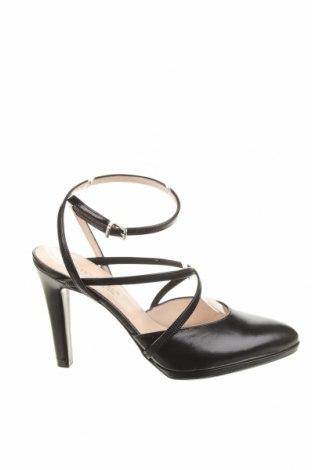 Γυναικεία παπούτσια Peter Kaiser, Μέγεθος 41, Χρώμα Μαύρο, Γνήσιο δέρμα, Τιμή 37,25€