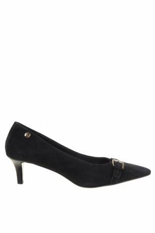 Дамски обувки Tommy Hilfiger, Размер 38, Цвят Син, Естествен велур, Цена 132,30лв.