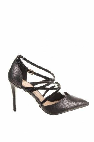 Дамски обувки W Collection, Размер 40, Цвят Черен, Еко кожа, Цена 19,32лв.