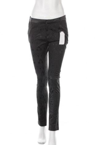 Дамски панталон Amisu, Размер M, Цвят Черен, 50% памук, 48% полиестер, 2% еластан, Цена 14,49лв.