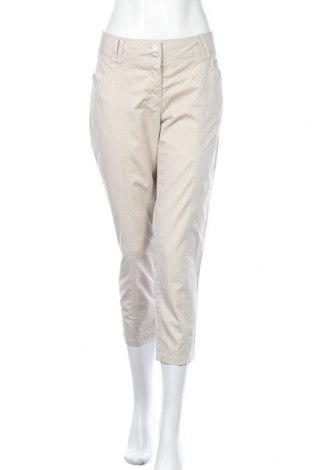 Γυναικείο παντελόνι Best Connections, Μέγεθος L, Χρώμα  Μπέζ, 99% βαμβάκι, 1% ελαστάνη, Τιμή 10,13€