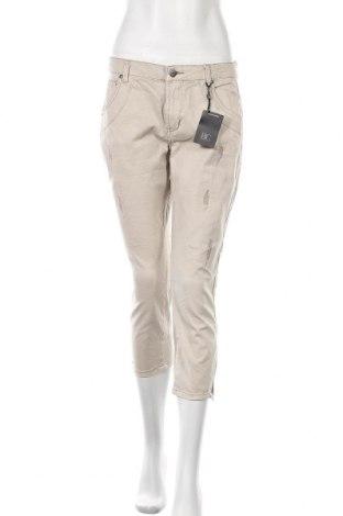 Дамски панталон B.C. Best Connections, Размер M, Цвят Бежов, 98% памук, 2% еластан, Цена 10,14лв.