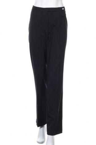 Γυναικείο παντελόνι Bianca, Μέγεθος L, Χρώμα Μπλέ, 58% πολυεστέρας, 35% βισκόζη, 7% ελαστάνη, Τιμή 16,01€