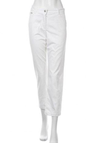 Γυναικείο παντελόνι Bianca, Μέγεθος S, Χρώμα Λευκό, 98% βαμβάκι, 2% ελαστάνη, Τιμή 13,80€