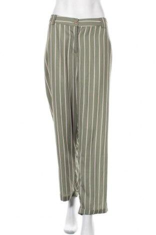 Γυναικείο παντελόνι Blue Seven, Μέγεθος XXL, Χρώμα Πράσινο, Πολυεστέρας, Τιμή 18,84€
