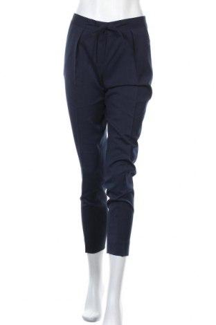Дамски панталон Brooks Brothers, Размер S, Цвят Син, Вълна, Цена 109,20лв.