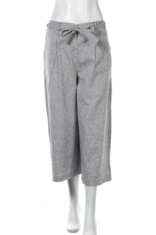 Дамски панталон Calliope, Размер M, Цвят Сив, 52% лен, 48% памук, Цена 40,95лв.
