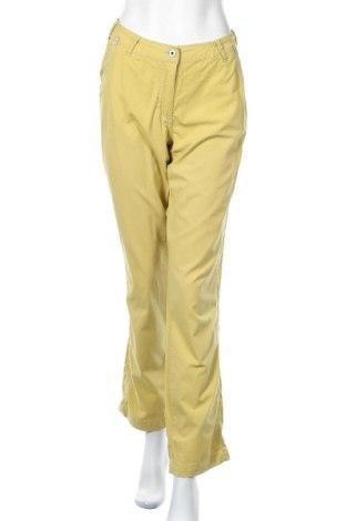 Дамски панталон Cecil, Размер L, Цвят Жълт, Цена 6,01лв.