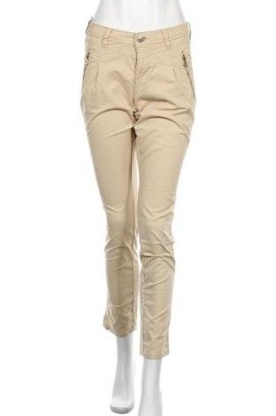 Γυναικείο παντελόνι Charles Vogele, Μέγεθος S, Χρώμα  Μπέζ, 98% βαμβάκι, 2% ελαστάνη, Τιμή 14,91€