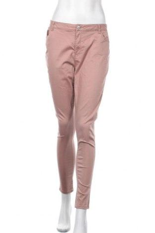 Дамски панталон Denim&Co., Размер XL, Цвят Пепел от рози, Цена 23,52лв.
