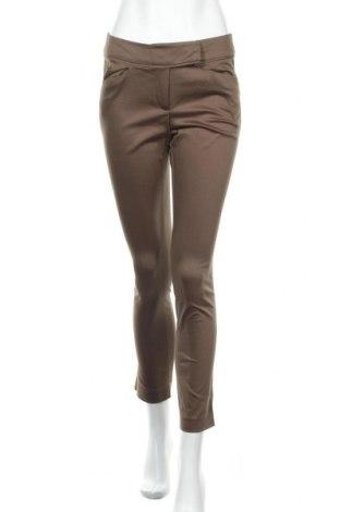 Дамски панталон Grain De Malice, Размер M, Цвят Кафяв, 65% памук, 30% полиамид, 5% еластан, Цена 21,42лв.