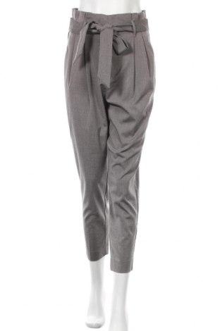 Γυναικείο παντελόνι H&M, Μέγεθος M, Χρώμα Γκρί, 64% πολυεστέρας, 34% βισκόζη, 2% ελαστάνη, Τιμή 22,27€