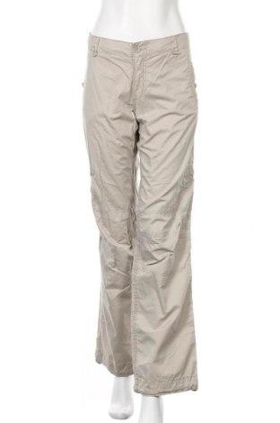 Дамски панталон H&M L.O.G.G., Размер L, Цвят Бежов, Памук, Цена 26,25лв.