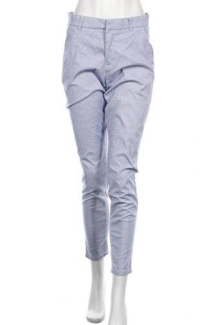 Дамски панталон H&M L.O.G.G., Размер S, Цвят Син, 97% памук, 3% еластан, Цена 26,25лв.