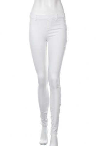 Γυναικείο παντελόνι Hydee by Chicoree, Μέγεθος M, Χρώμα Λευκό, 65% βαμβάκι, 30% πολυεστέρας, 5% ελαστάνη, Τιμή 6,14€